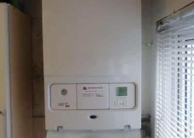 Worcester Greentar combination gas boiler installation (10 year guarantee)